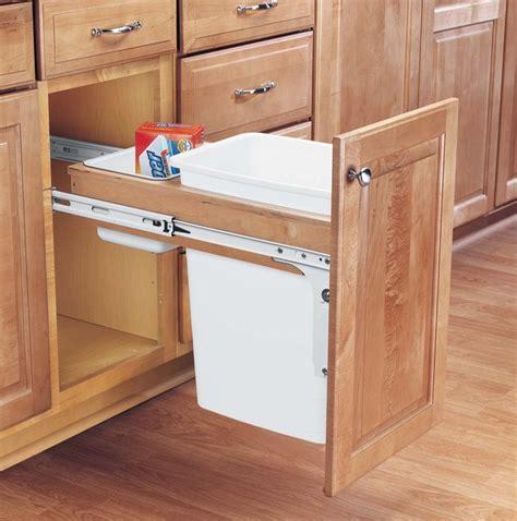 pull trash cabinet