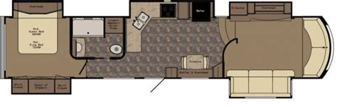 rushmore rv floor plans 2015 crossroads rushmore lincoln 39 ln fifth wheel tulsa