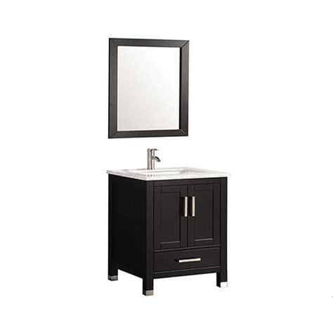 mtd vanities mtd 1124 24 mtd vanities ricca 24 in w x 22 in d x 36 in h vanity in espresso with marble vanity top in