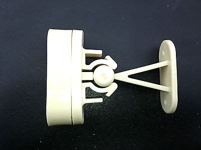 Exterior Door Catch Static Caravan Exterior Door Catch Retainer With Spacer White