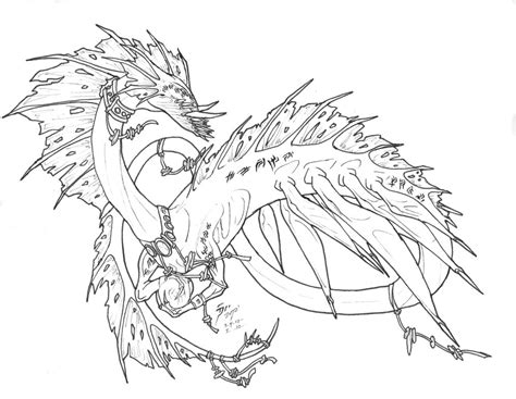 Sea Serpent Coloring Pages how to draw sea serpent