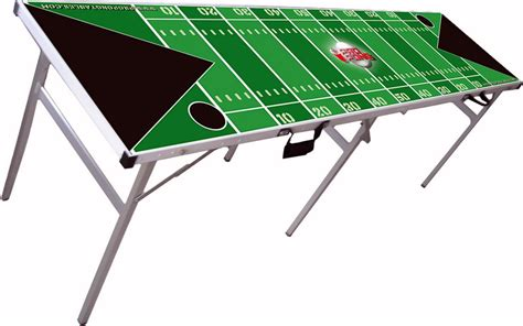 nfl pong table is hypocrisy tailgating ideas