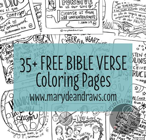 free hand lettered bible verse printable and coloring page 35 free printable hand drawn bible verse coloring pages