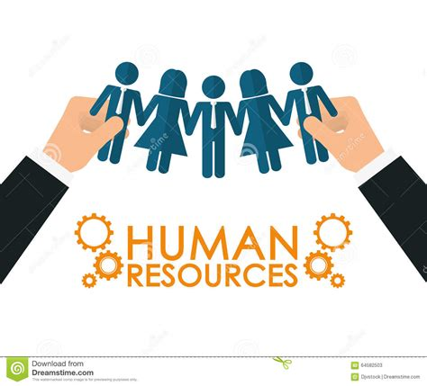 design resources human resources design stock vector image 64582503