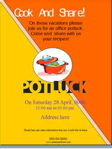 potluck flyer template office potluck flyer template publisher flyer templates
