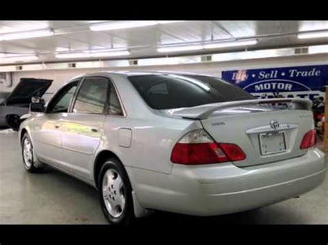 2004 toyota avalon for sale 2004 toyota avalon xl for sale in downers grove il