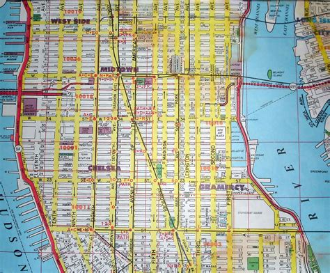manhattan ny map of city map of midtown manhattan area map of manhattan city pictures