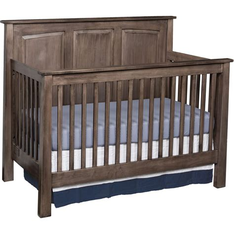 Amish Cribs by Shaker Crib Amish Crafted Furniture