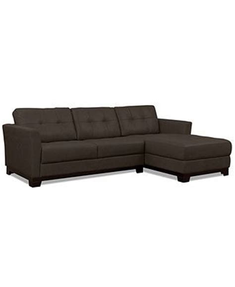 martino leather sofa martino leather chaise sectional sofa 2 piece apartment