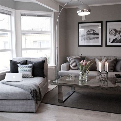 grey and beige living room room decor furniture interior design idea neutral room
