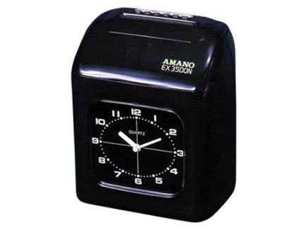 Mesin Absensi Analog jual mesin absensi analog amano ex3500n