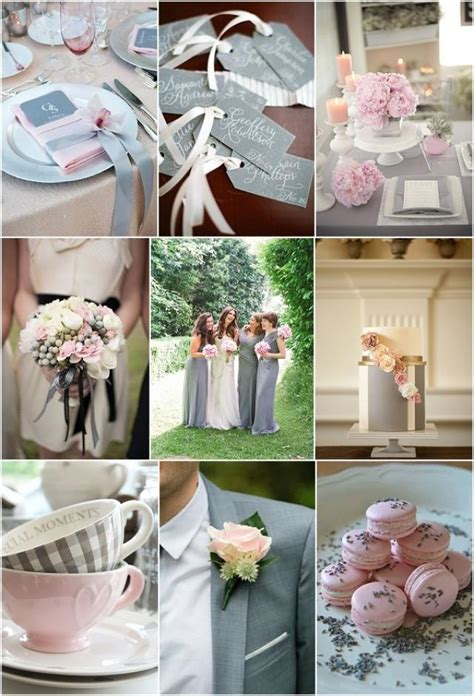 grey pink wedding theme cool pink and grey wedding ideas weddbook