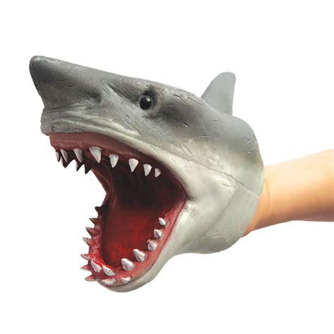 Backyard Play Toys Shark Stretchy Hand Puppet Fun Stuff Toys