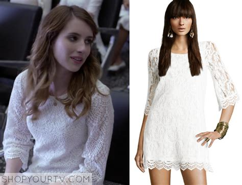 Dress Lena Ij 1 delirium season 1 episode 1 lena s white lace shift dress