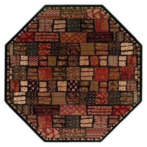 Funky Area Rugs Funky Shapes With Octagon Area Rugs Funk This House