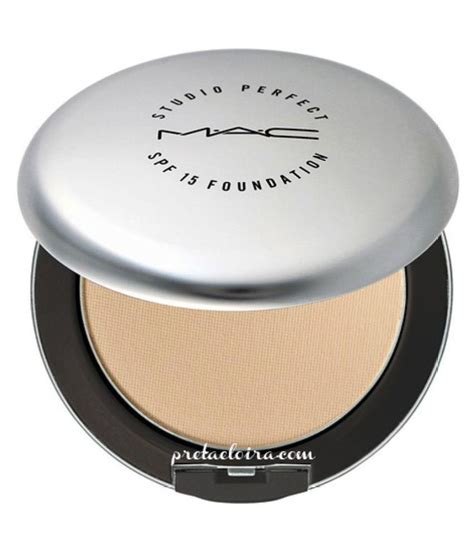 Mac Studio Compact Powder mac finishing powder studio foundation nc20 spf 15