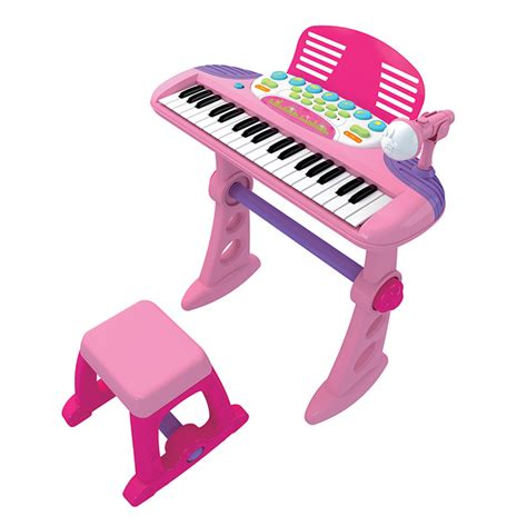 Toddler Keyboard With Microphone And Stool by Electronic Keyboard With Microphone Stool Buy