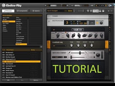 tutorial guitar fl studio install guitar rig with fl studio tutorial part 2 youtube