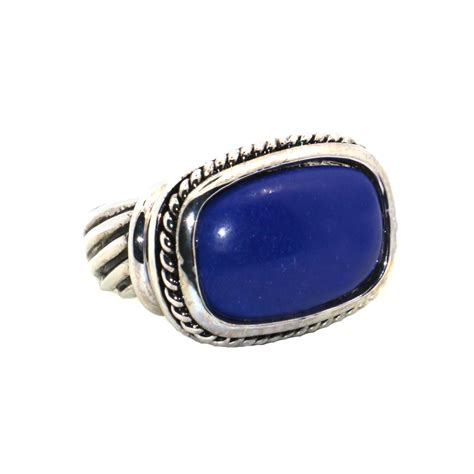 lapis lazuli 925 sterling silver top quality fancy jewelry