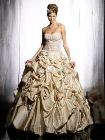 gold wedding dress top 10 2013 wedding dress style gold wedding inspiration trends