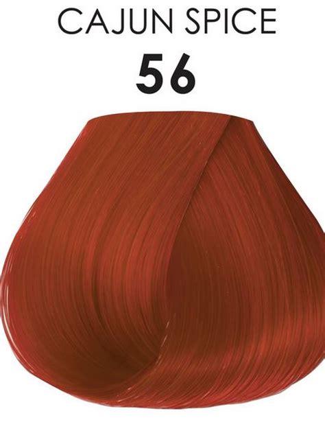 cajun spice hair color adore semi permanent hair color 56 cajun spice 4 oz