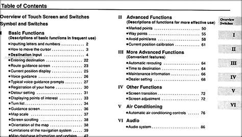 manual repair autos 2001 lexus lx security system 2001 lexus lx 470 navigation system owners manual original