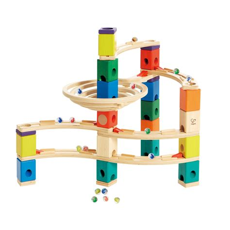 Which Hape Marble Run Quadrilla - hape quadrilla wooden marble run construction