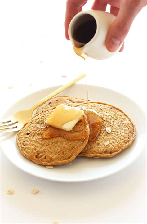 whole grains easy to digest whole grain vegan pancakes minimalist baker recipes