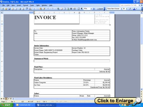 Project Invoice Template project invoice template rabitah net