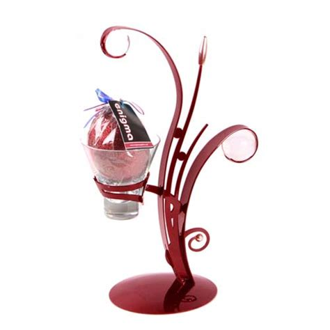 enigma stylish and magical metal candle holder with a