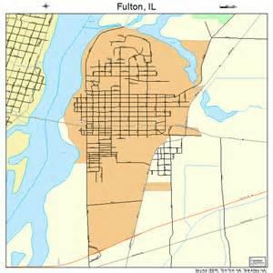 fulton map fulton illinois map 1728144