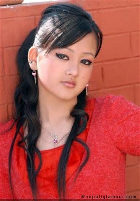 beautiful nepali girl akriti shah