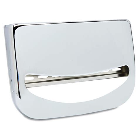 toilet seat covers dispenser toilet seat cover dispenser 16 x 3 x 11 1 2 chrome