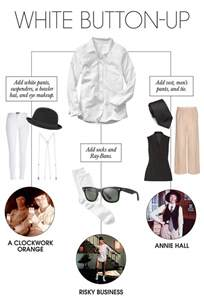 make a costume out of things from your closet rentmoola
