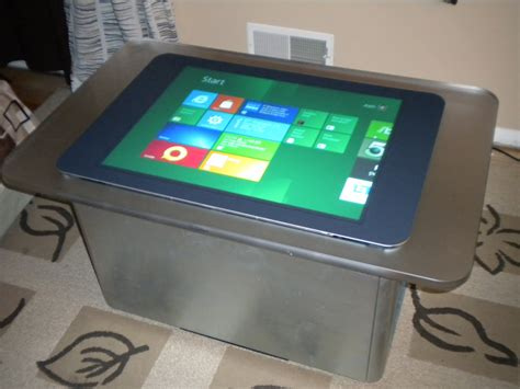 Surface Table by Frontslash Windows 8 Running On Microsoft Surface 1 0