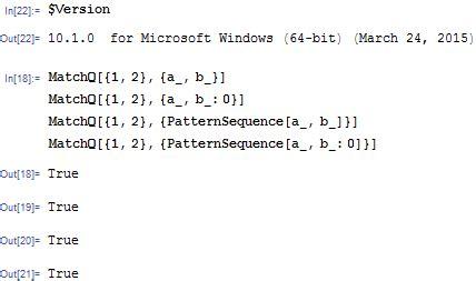 pattern matching mathematica bugs unexpected pattern matching behaviour