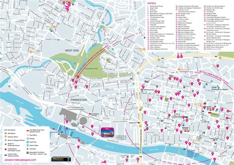 glasgow mapping the city 1780273193 glasgow hotel map