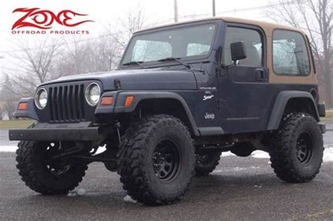 Jeep Tj Lift 3 Inch Lift Kit For Jeep Wrangler