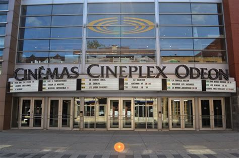 cineplex galaxy cineplex com cin 233 ma cineplex odeon quartier latin