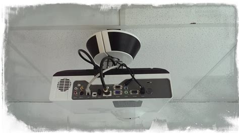 Mount A Projector To The Ceiling by How To Install Ceiling Mount Projector Screen Softperformance17