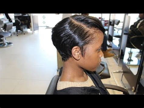 meagan good inspired hairstyle on short natural hair salon work meagan good inspired cut from natural to