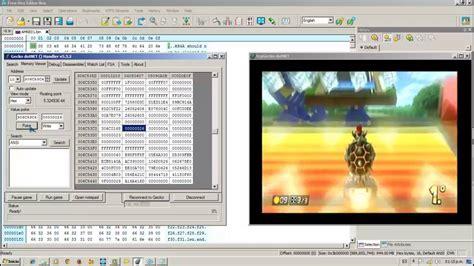kumpulan cheat mod hack game wii u tcpgecko gecko dotnet how to apply cheats codes