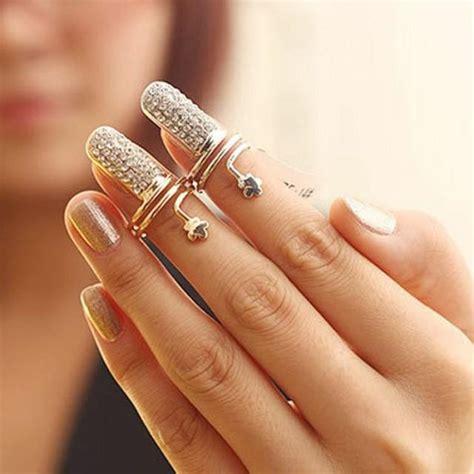 fashion jewellery womens vintage charms nail set