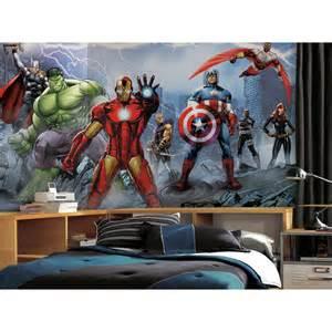 avengers assemble mural superhero wall mural super hero rooms can make