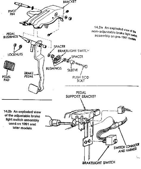 jeep brake light switch wiring diagram efcaviation
