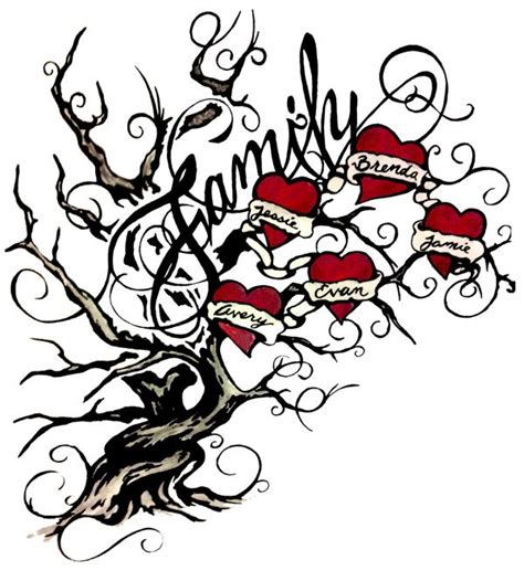 family tree tattoo designs with names family tree designs aqxdotk my style