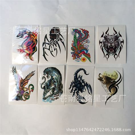 tattoo stickers 1sheets 1 pcs manufacturers custom stickers