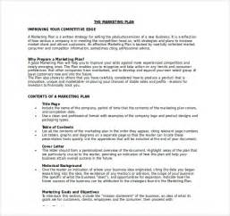 marketing plan template word free 18 microsoft word marketing plan templates free