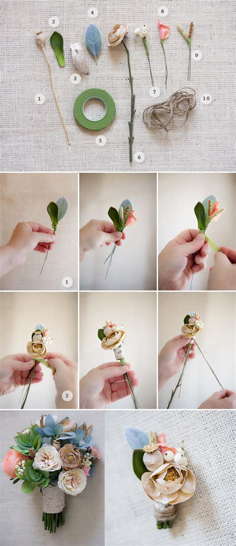 How to make a boutonniere with silk flowers gallery kotaksurat how to make boutonniere with silk flowers image mightylinksfo