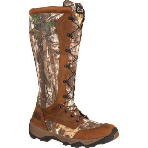 snake boots for sale rocky retraction waterproof realtree lace up snake boot